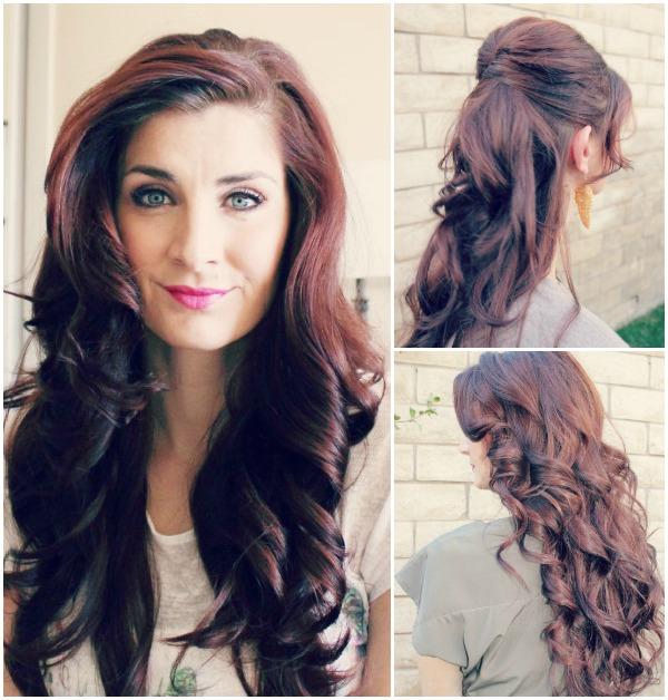 Curled-hair